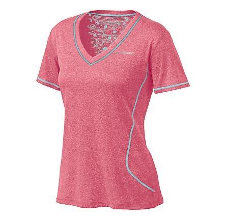 Womens Brooks Versatile EZ Short Sleeve V-Neck Technical Tops