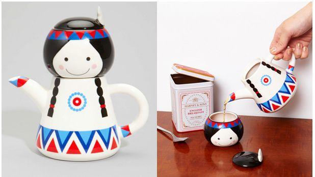 Tiger Lily tea set