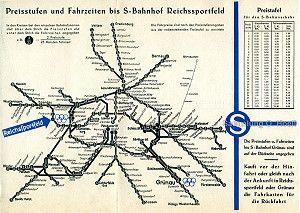 Netzplan der Berliner S-Bahn (1936)