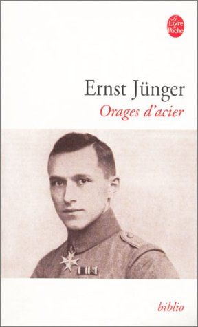 Orages d'acier - Ernst Jünger - Livres