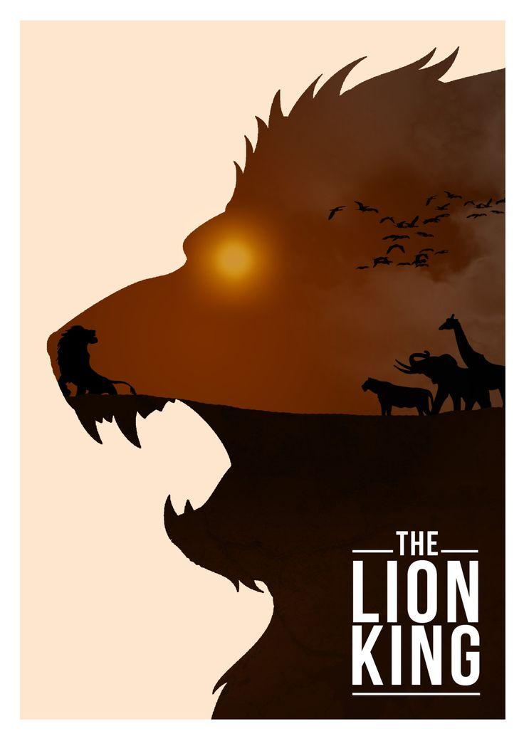 -The Lion King by Rowan Stocks Moore  this WILL hang on my wall. waaaaaant.