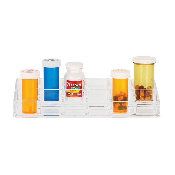 Danielle 12 Compartment Clear Acrylic Pill Box Organizer -- You can get additional details at the image link. (Note:Amazon affiliate link) #Makeuporganization