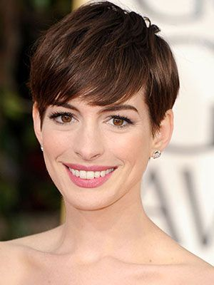 I obsessed with Anne's perfectly styled pixie. Create the look at home with these tips from hairstylist Adir Abergel.