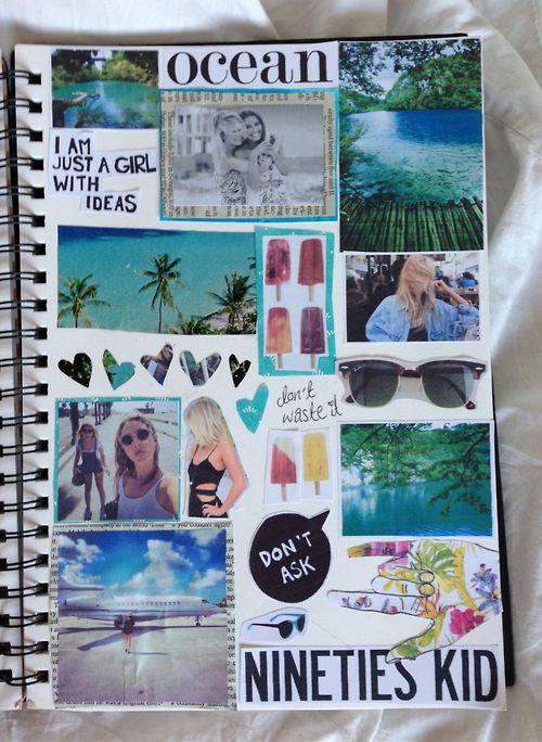 collage tumblr summer - Buscar con Google