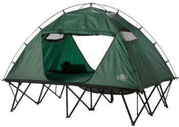 Kamp-Rite CTC DOUBLE 2 Person Camping Tent Cot  This would be cool to sleep outside in on the deck in the summer, when it is cool outside but still hot in the house.