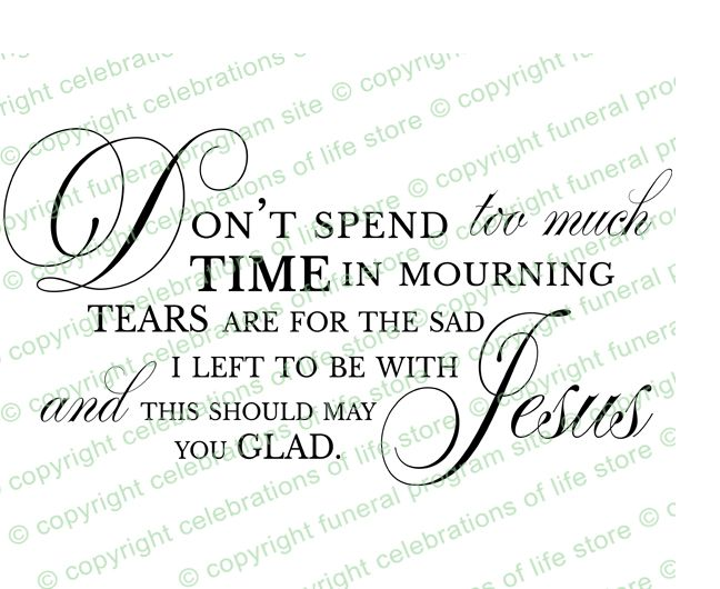 19 best funeral images on Pinterest Funeral quotes, Bible verses - memorial service template word
