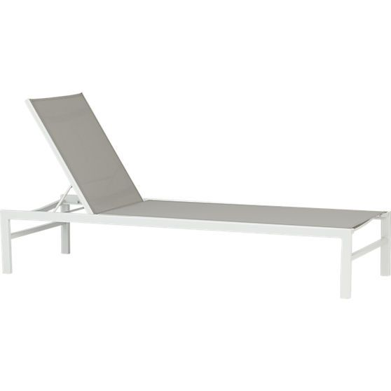 Idle grey outdoor chaise lounge turquoise chaise for Chaise longue bleu turquoise