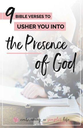 Ushering in the Presence of God