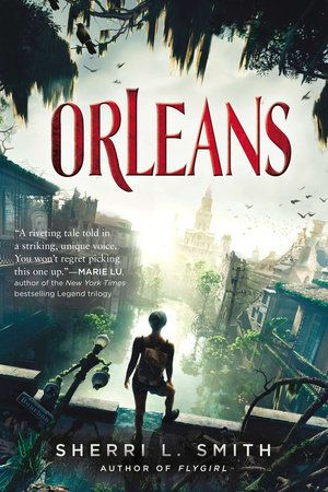 """Sherri Smith is an incredible worldbuilder, and her brutal version of the Big Easy is both fantastically strange and terrifyingly realistic."" Assistant Editor Katherine Perkins recommends  ORLEANS by Sherri L. Smith"