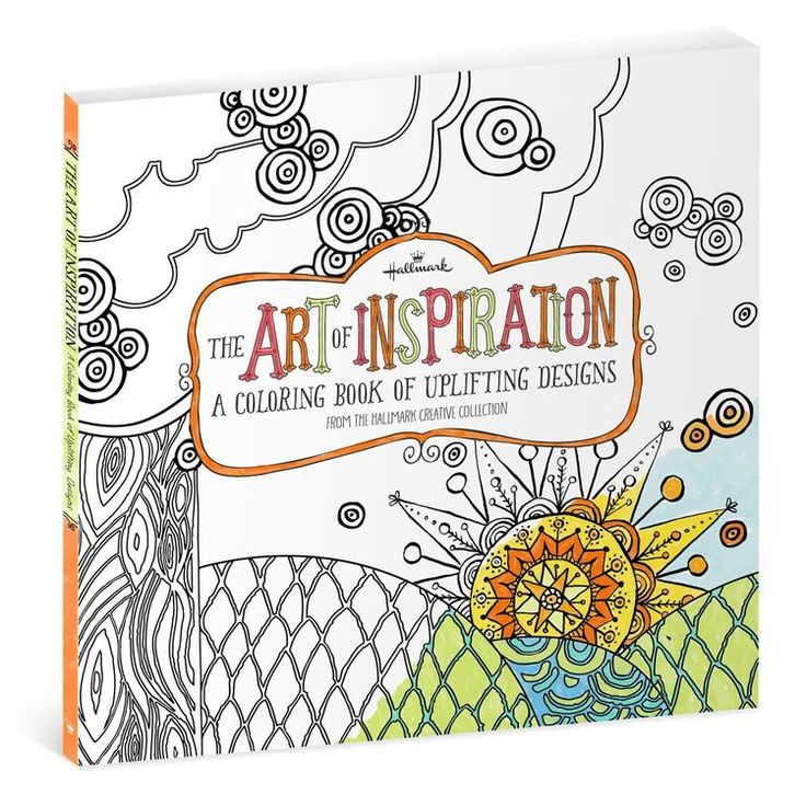 The Art Of Inspiration Is A Coloring Book For Adults That