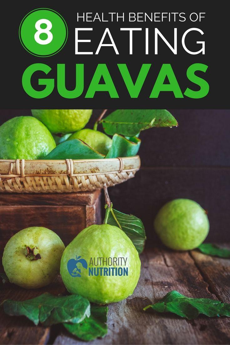 8 Health Benefits Of Eating Guavas