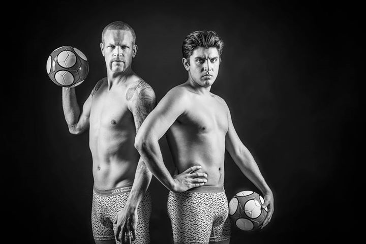 Andrew The Intern is teaming up with Saxx Underwear and Jay DeMerit - Official to promote men's health this Movember!  If this photo gets 5000 'likes' we will put it on a billboard! http://ow.ly/UqP71