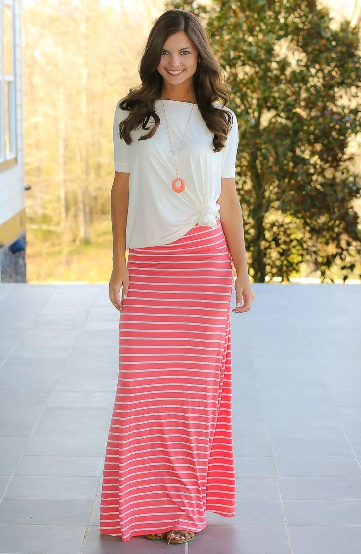 Best 25+ Maxi outfits ideas on Pinterest | Maxi skirts, Maxi ...