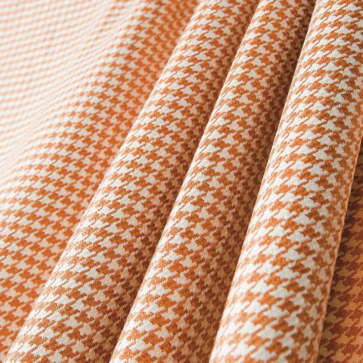 "P/Kaufmann Fenton Marmalade 54"" Houndstooth Fabric - Sailrite"