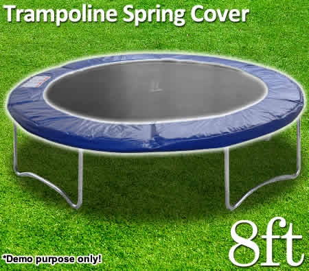 Trampoline Spring Cover - Cover Safety Pad for 8FT 244cm Round Trampoline