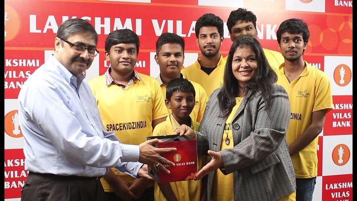 Lakshmi Vilas Bank Funds Kalamsat 2 by Space Kidz