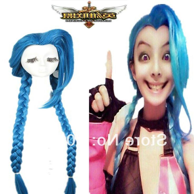 32.69$  Watch here - https://alitems.com/g/1e8d114494b01f4c715516525dc3e8/?i=5&ulp=https%3A%2F%2Fwww.aliexpress.com%2Fitem%2FFree-Shipping-100cm-blue-braid-League-of-Legends-Jinx-Loose-Cannon-party-cosplay-hair-wig%2F32607668350.html - Free Shipping>>>100cm blue braid League of Legends Jinx Loose Cannon party cosplay hair wig 32.69$