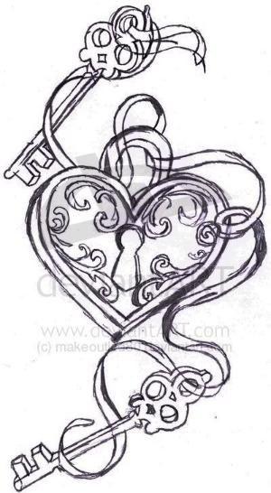 Key to my heart.   Next tattoo idea.. ?! :) by aline