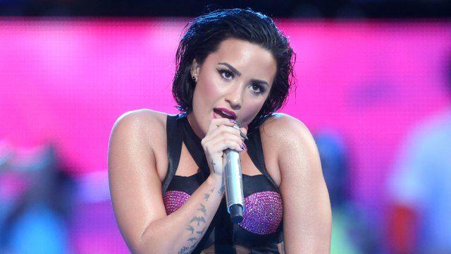 Demi Lovato (Frederick M. Brown/Getty Images for MTV)  b96 pepsi jingle bash artist, Behind The Scenes, confident, dance music, Demi Lovato, pop music, rock music, saturday night live, sexy, SNL, stone cold, TV Rewind, watch live performances
