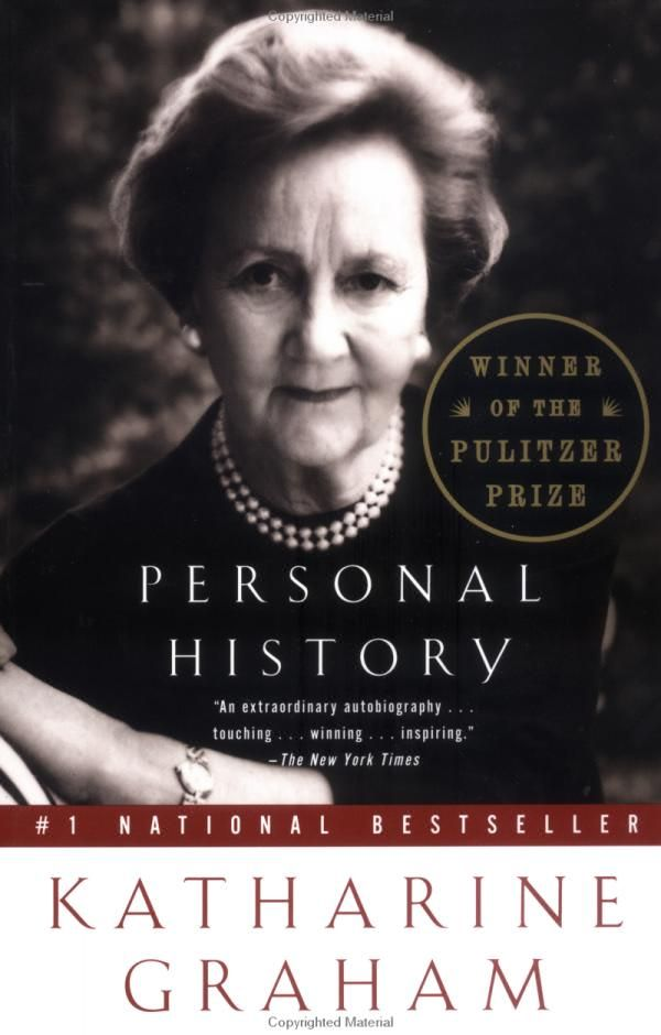 Local Levo Leader Book Recommendation | Personal History : Katharine Graham #read