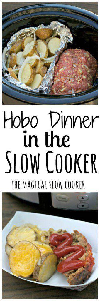Hobo Dinner in the Slow Cooker