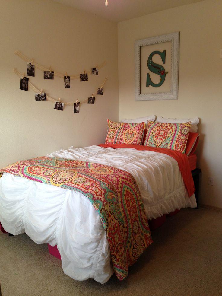I love my bedding! #bedding #college #dorm