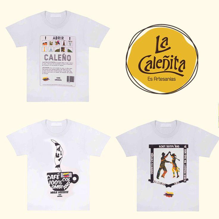 ¿Ya viniste a ver nuestra colección de Camisetas Típicas? 😍👕👚 #LaCaleñita #ArtesaniasLaCaleñita #ArtesaniasTipicasDeColombia