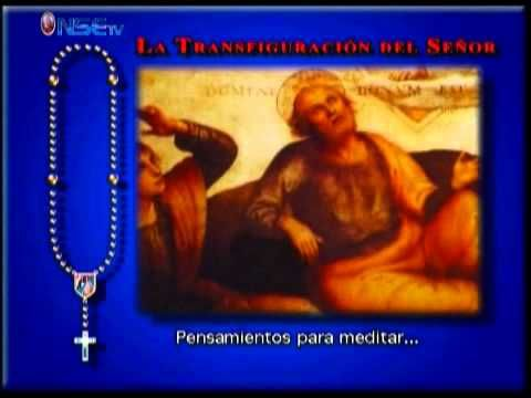 Rezo del Santo Rosario Misterios Luminosos - YouTube