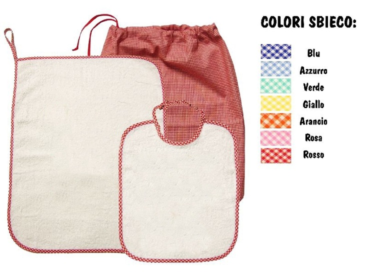 """Set Asilo, """"Semplice"""" Bianco, lo trovi qui: http://www.coccobaby.com/prodotto/set-asilo-idee-regalo/set-completi/785/set-asilo,-semplice-bianco"""
