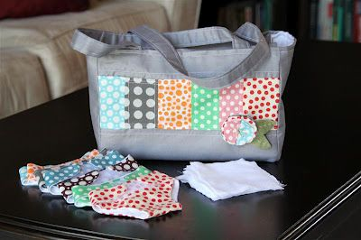 doll diaper bag and diapers