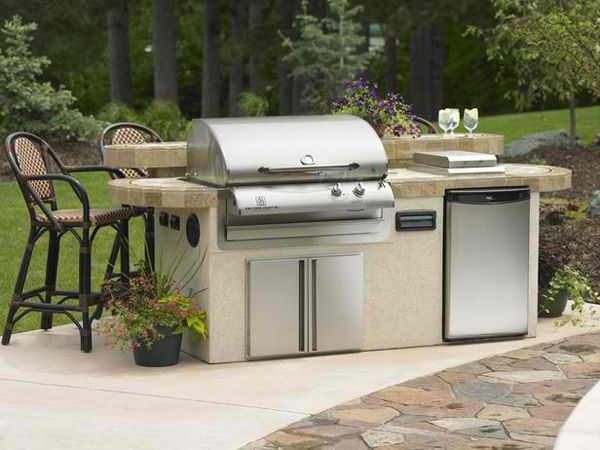 Best 25+ Modular outdoor kitchens ideas that you will like on - outside kitchen designs