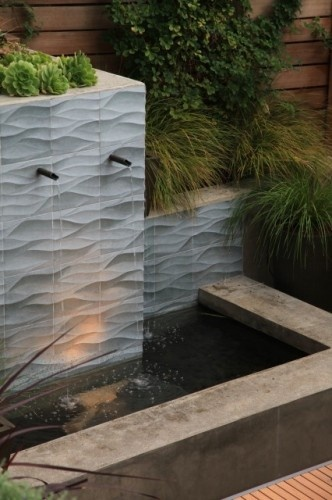 32 best images about landscape water features on for Outer space landscape architects adelaide