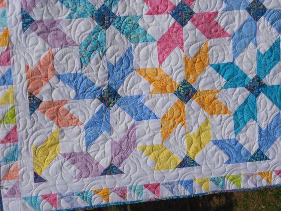 Quilt Pattern   Sugar Blossoms Fat Quarter by LittleLouiseQuilts