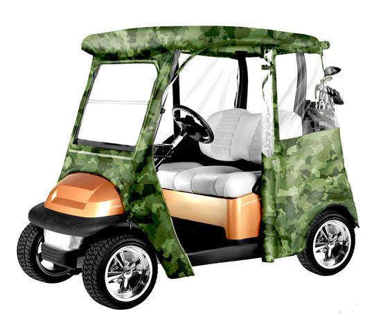 This product is sold by: Unit. - Fits Precedent® Golf Cart Model Year 2000 & Later - Full protection against weather and wind - Heavy duty fabric walls with clear window material - Secures with hooks