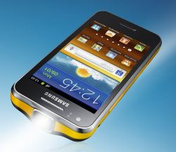 Samsung Galaxy Beam - a smarphone with a projector!