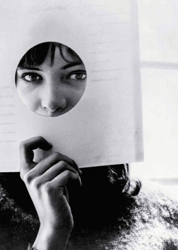 Anna Karina in Le Petit Soldat by Jean-Luc Godard, 1963