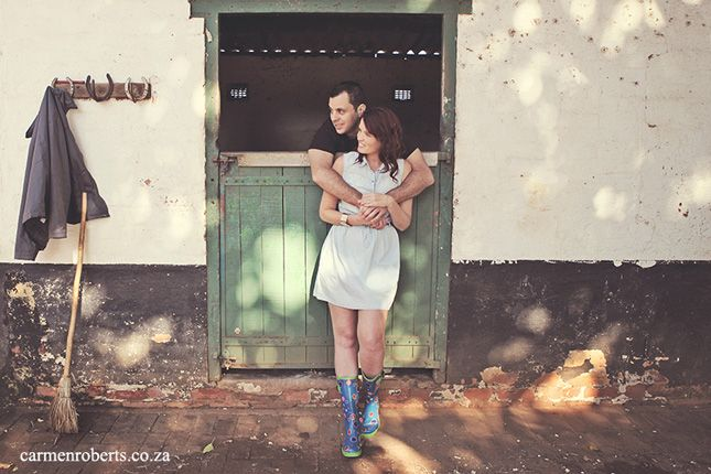 Mark & Mandy's engagement shoot at the stables. Carmen Roberts Photography