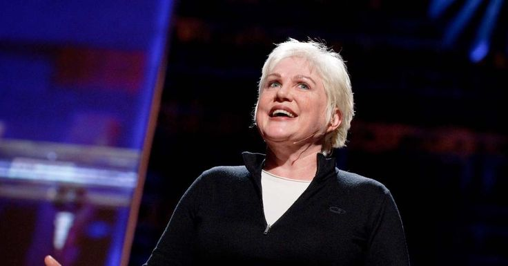 """Julia Sweeney: It's time for """"The Talk""""  Despite her best efforts, comedian Julia Sweeney is forced to tell a little white lie when her 8-year-old begins learning about frog reproduction — and starts to ask some very smart questions."""