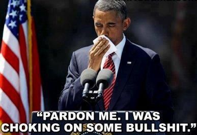 Obama Interrupts Himself While Giving Speech|Jokes of The Conservative Papers