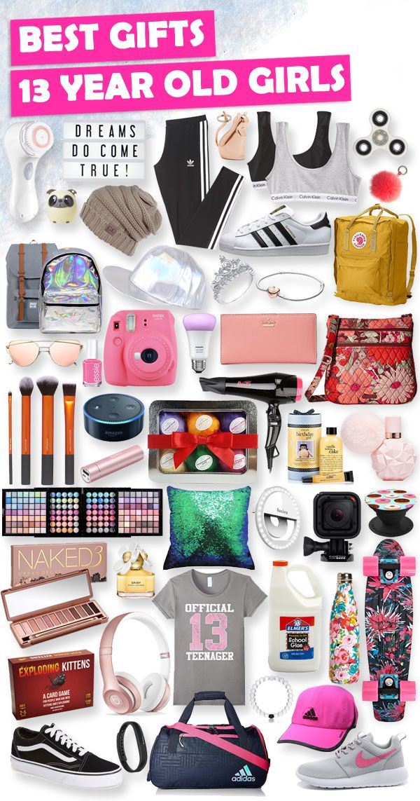 Tons of great gift ideas for 13 year old girls.