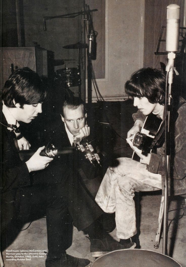 thegilly:  Rubber Soul sessions, 1965