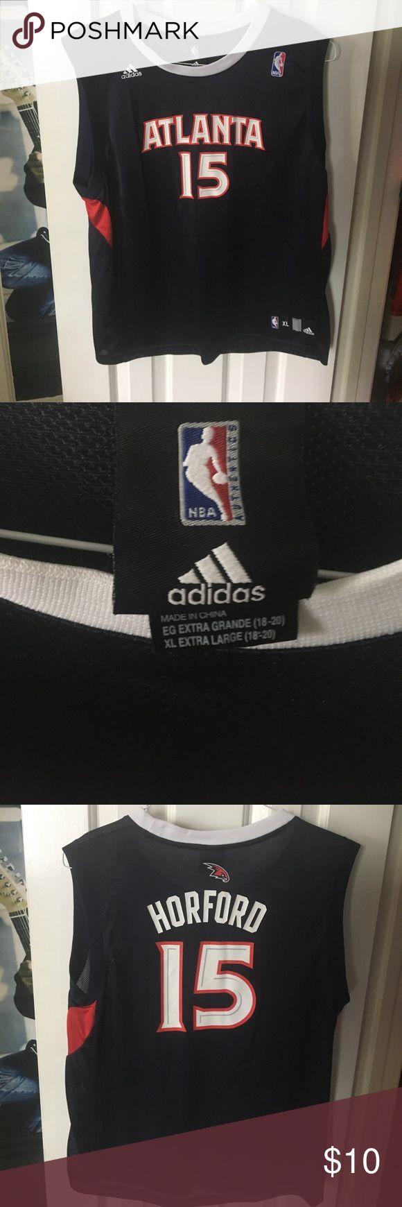 Adidas Atlanta Hawks Al Horford #15 - youth XL Adidas Atlanta Hawks Al Horford #15 - youth XL. Like new condition adidas Shirts & Tops