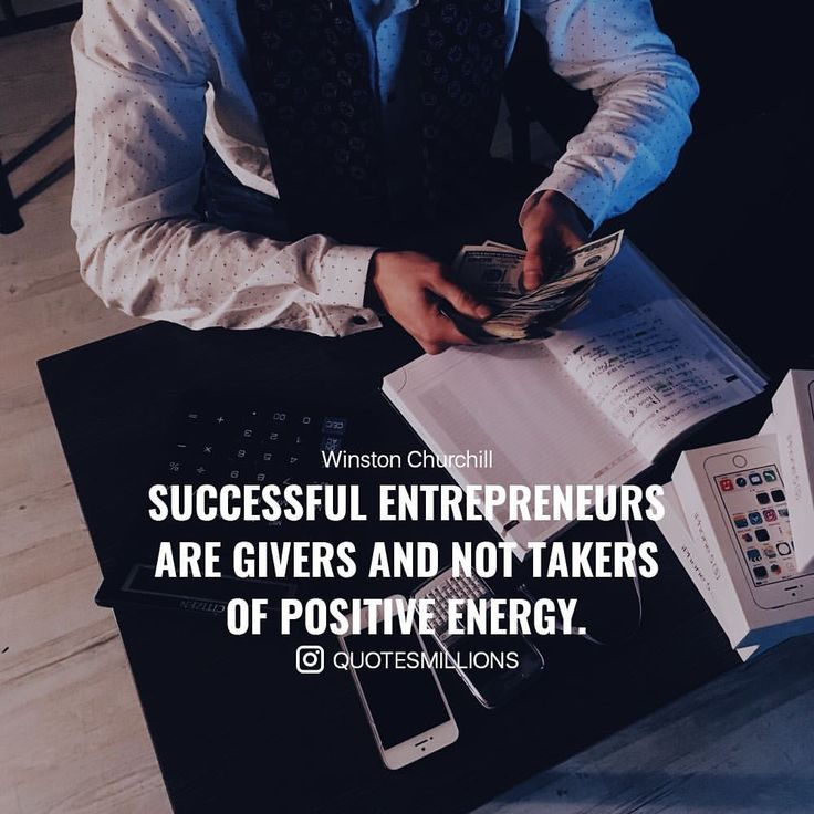 """1,683 Likes, 2 Comments - Quotes Success & Motivational (@quotesmillions) on Instagram: """"Everyone should remember this. Successful entrepreneurs give positive energy. Do you agree with…"""""""
