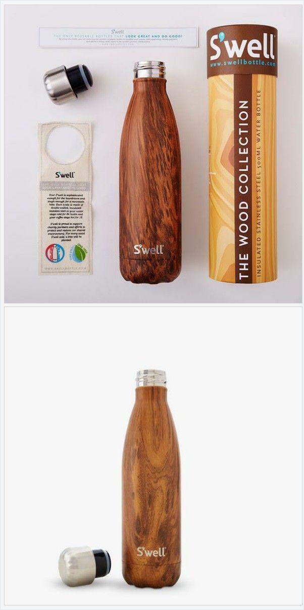S'well Bottle TEAKWOOD 17oz medium wood collection Water Bottle thermo modern design https://www.at-lotus.com/products/teakwood-modern-design-water-bottle-thermo-wood-collection