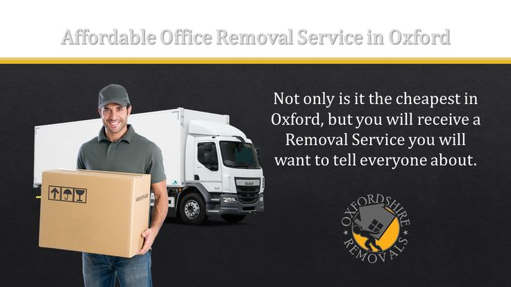 Affordable Office Removal Service in Oxford