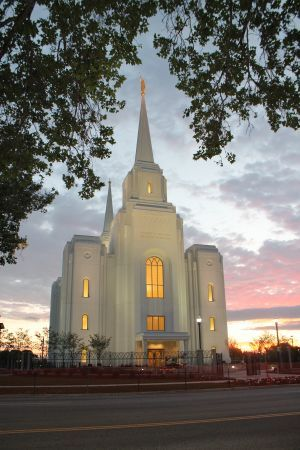Brigham City Temple - Salt Lake City, Utah - Mormon Church, Church of Jesus Christ of Latter-Day Saints (LDS)
