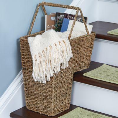 Seagrass Stair Basket