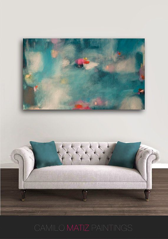 Beautiful poster in blue Camilo Matiz Title : The Swan