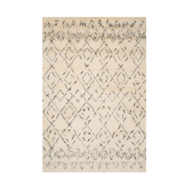 Argyle is a classic preppy look, but here, it takes a more organic approach. Inspired by traditional Moroccan style, this rug adds softness and a touch of texture to your flooring.  Find the Lama Moroccan Rug, as seen in the A Sophisticated Farmhouse Collection at http://dotandbo.com/collections/a-sophisticated-farmhouse?utm_source=pinterest&utm_medium=organic&db_sku=91438