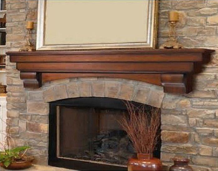 Pearl Mantels Auburn Traditional Fireplace Mantel Shelf Decor Http Lanewstalk
